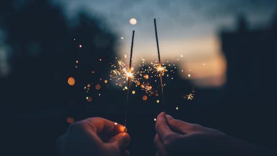 person-light-sky-night