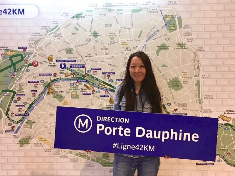 We followed Julie to the Paris Marathon 2018!