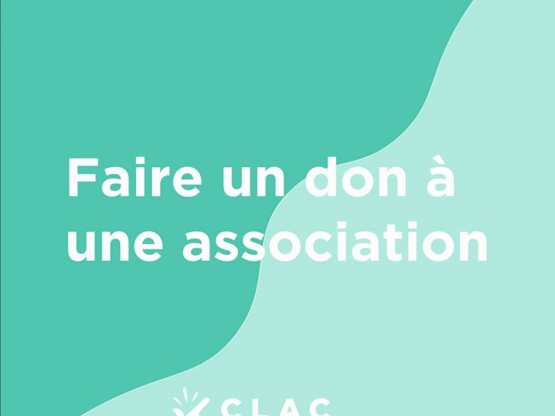 Histoire Clac N°22 : don à cette association